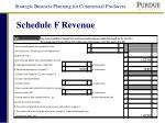 schedule f revenue