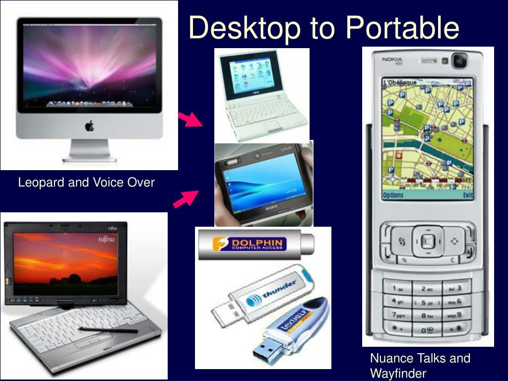 Desktop to Portable
