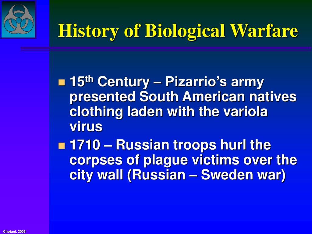 History of Biological Warfare
