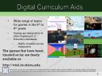 digital curriculum aids