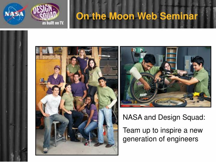 On the Moon Web Seminar