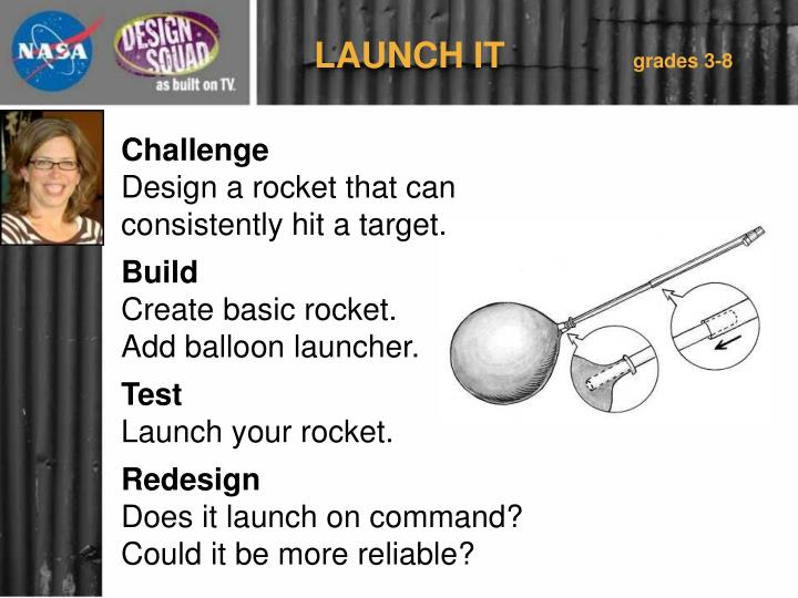 LAUNCH IT