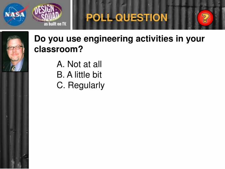 POLL QUESTION