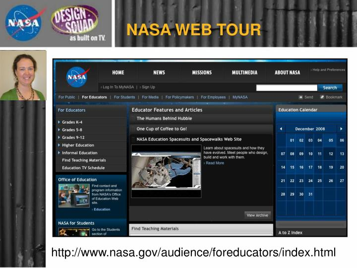 NASA WEB TOUR