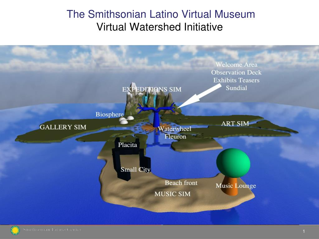 the smithsonian latino virtual museum virtual watershed initiative l.