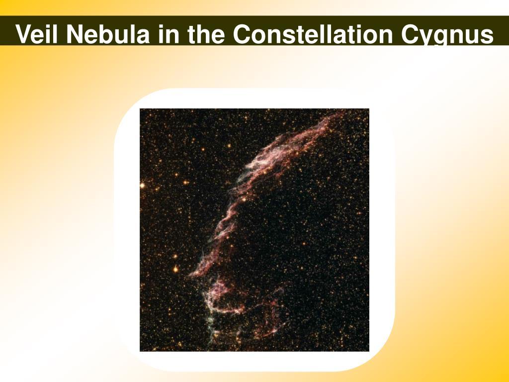 Veil Nebula in the Constellation Cygnus