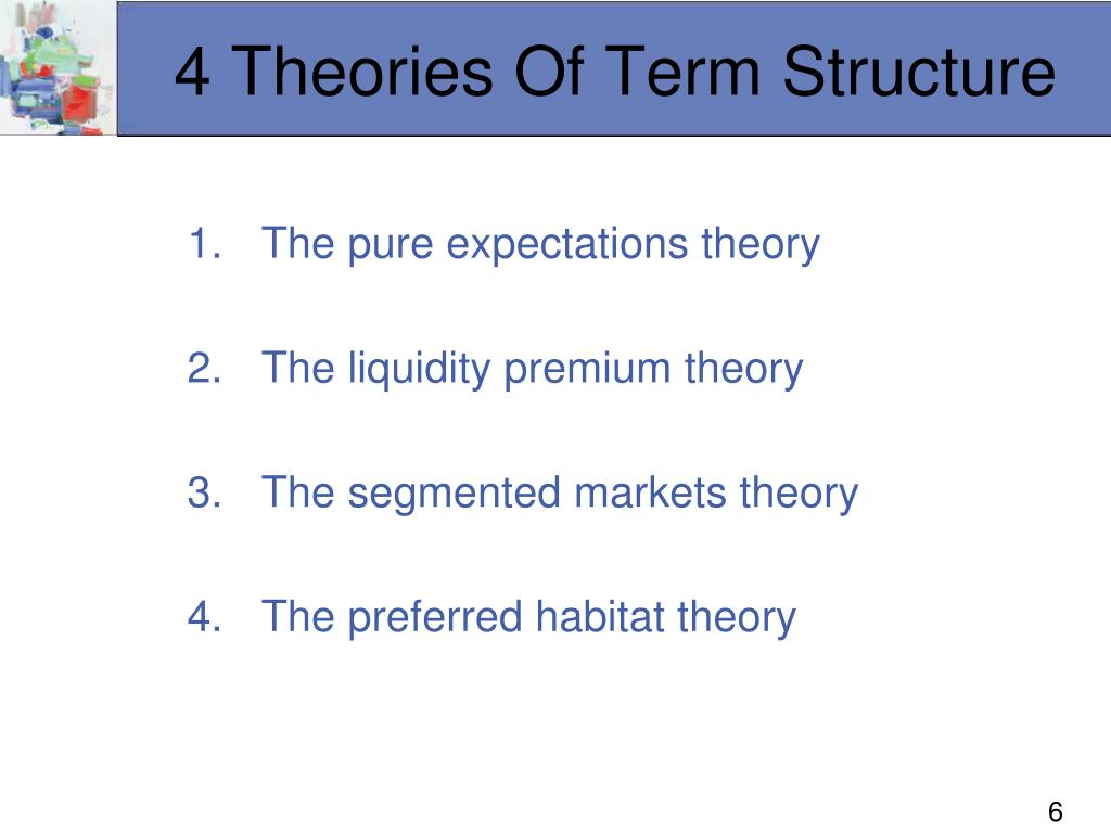 4 Theories Of Term Structure