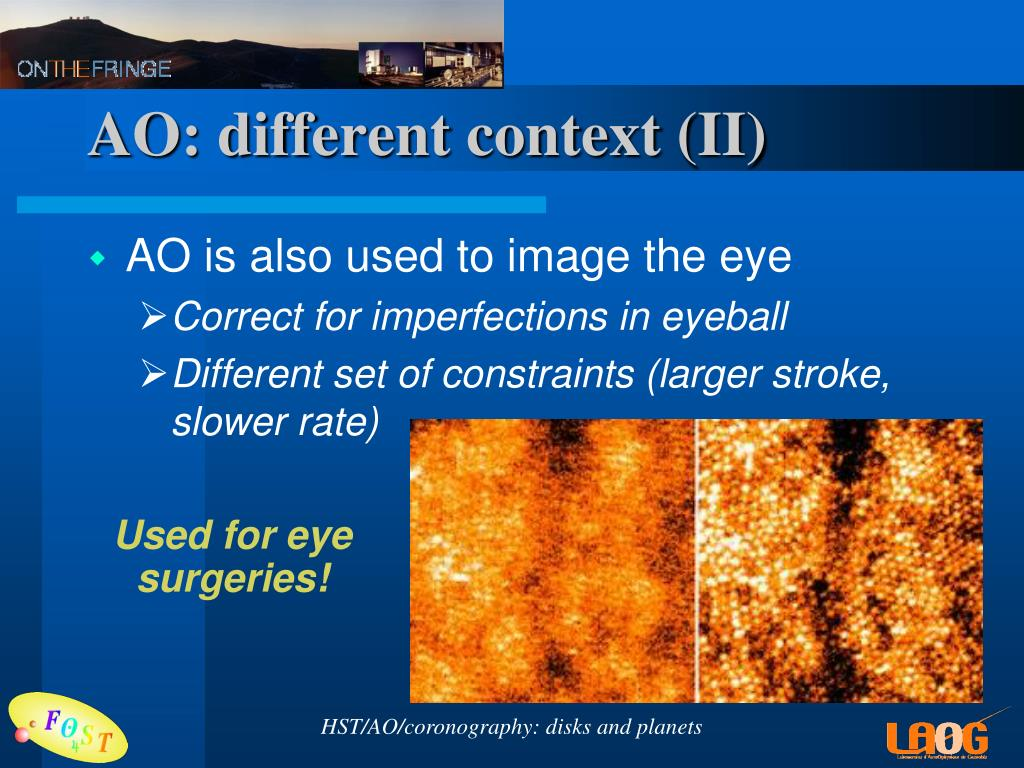 AO: different context (II)