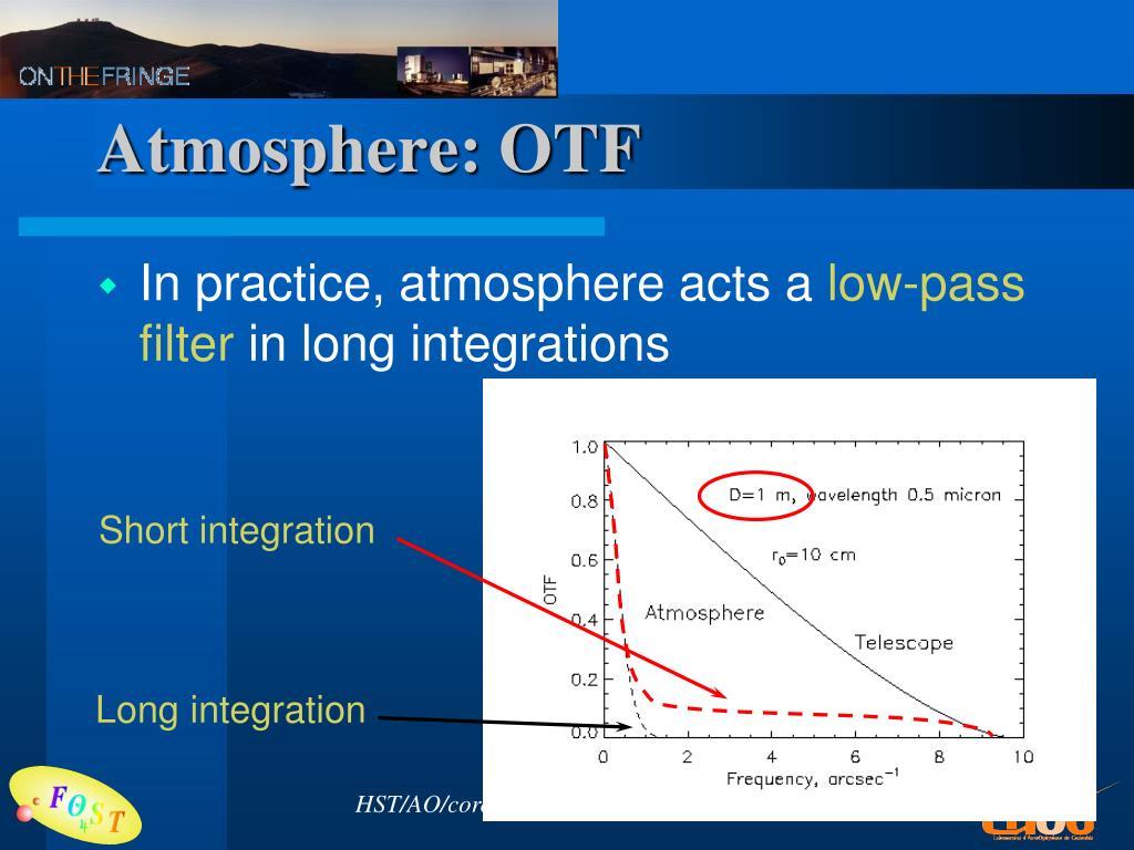Atmosphere: OTF