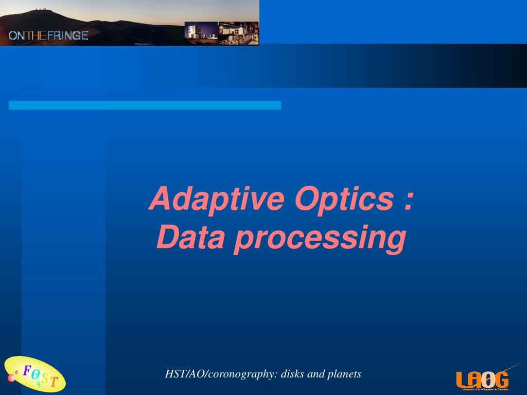 Adaptive Optics :