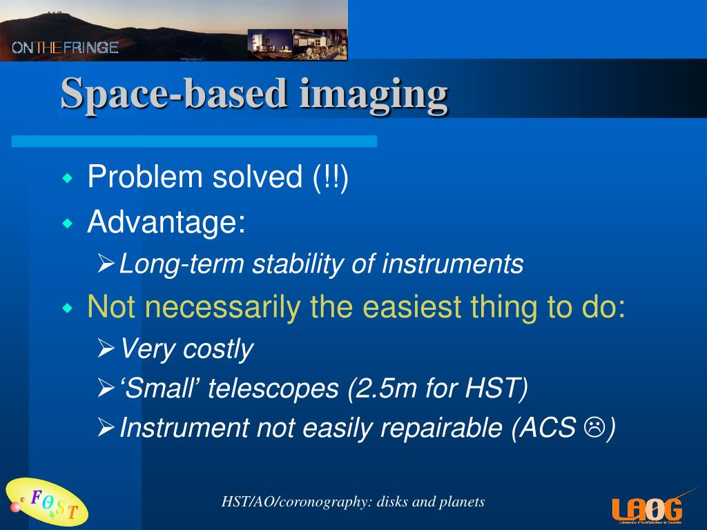 Space-based imaging