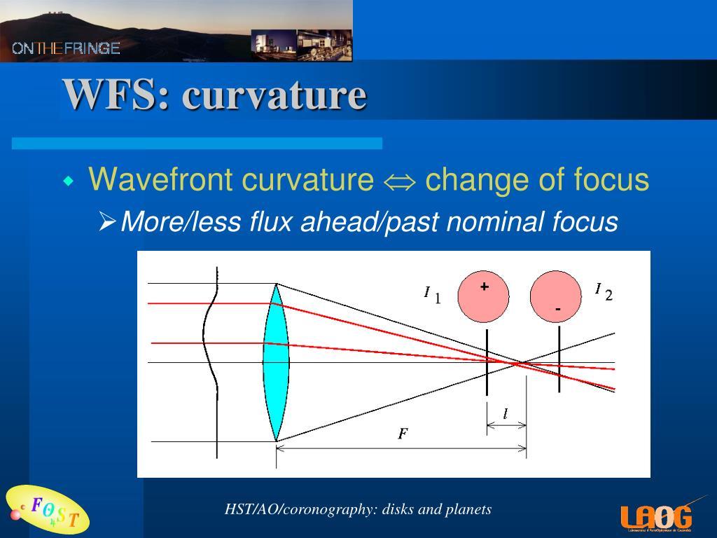 WFS: curvature