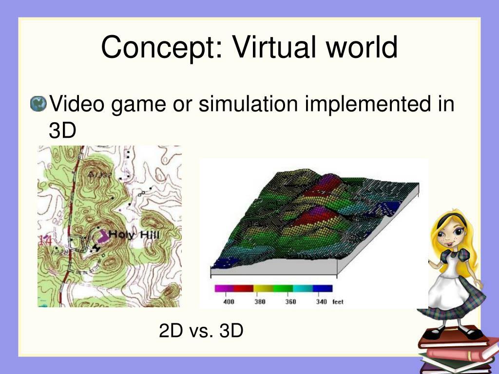 Concept: Virtual world