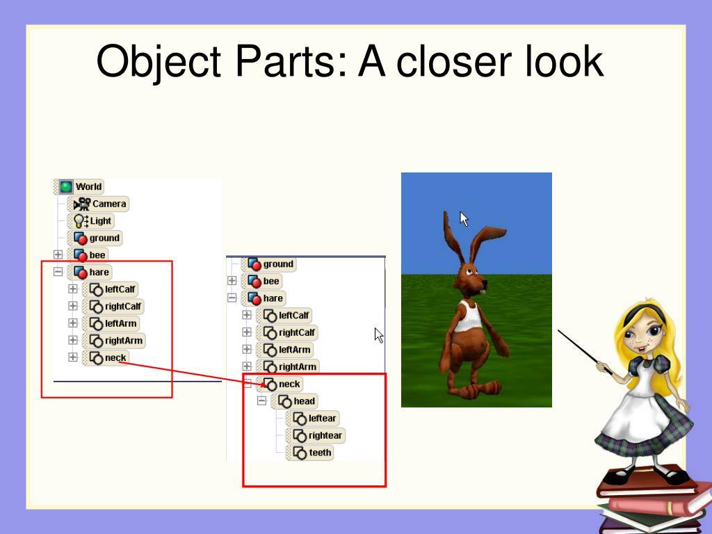 Object Parts: A closer look