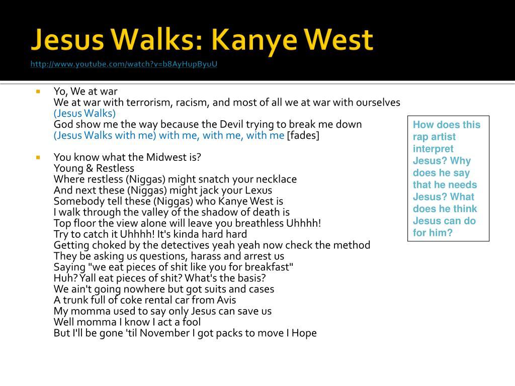 Jesus Walks: