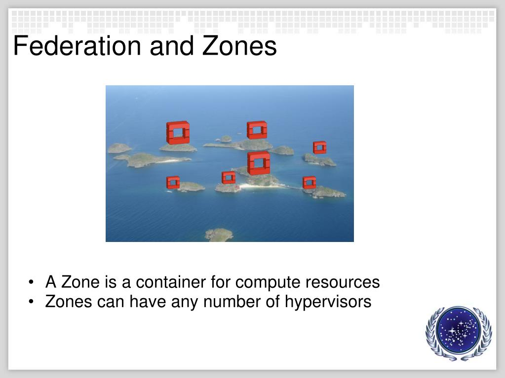 Federation and Zones