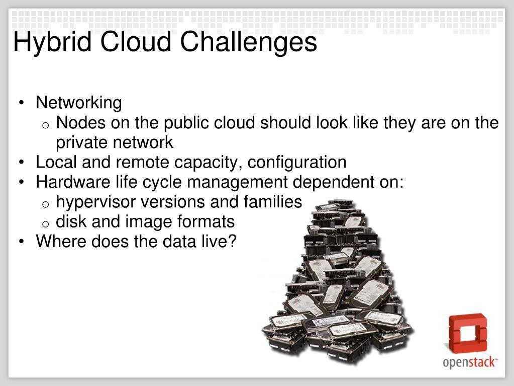 Hybrid Cloud Challenges