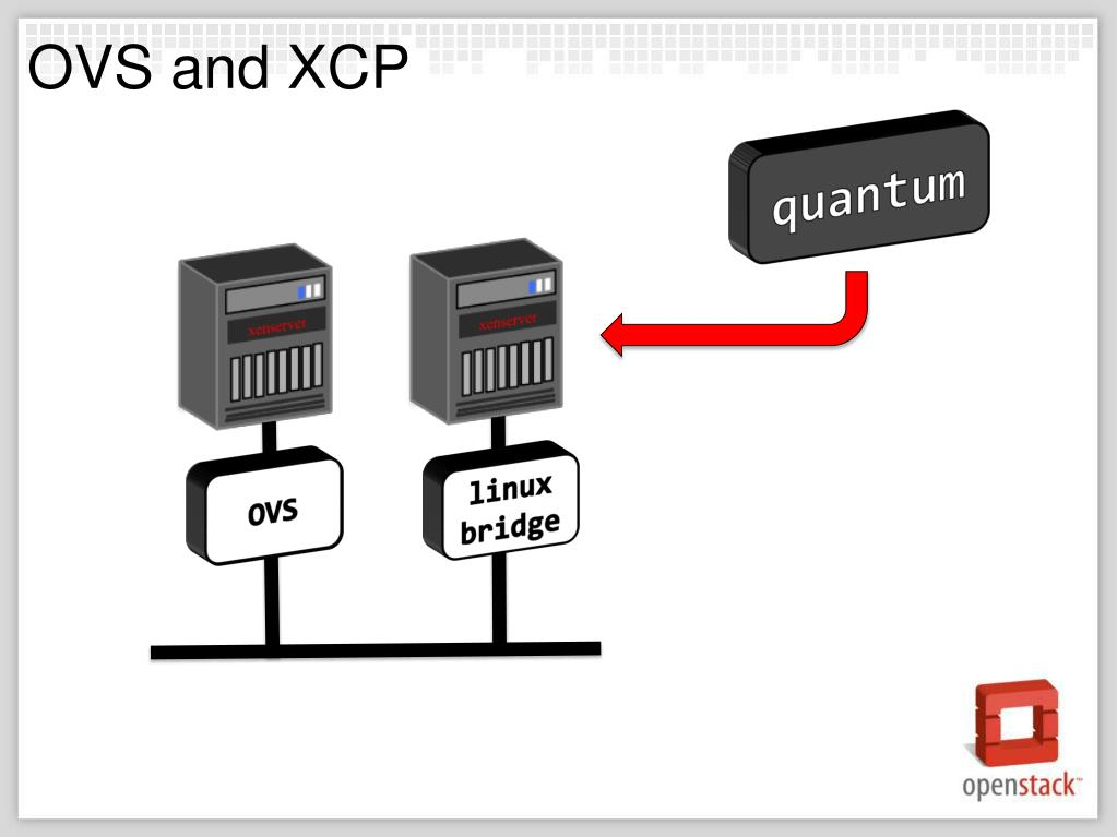 OVS and XCP