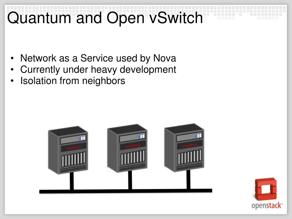 Quantum and Open vSwitch