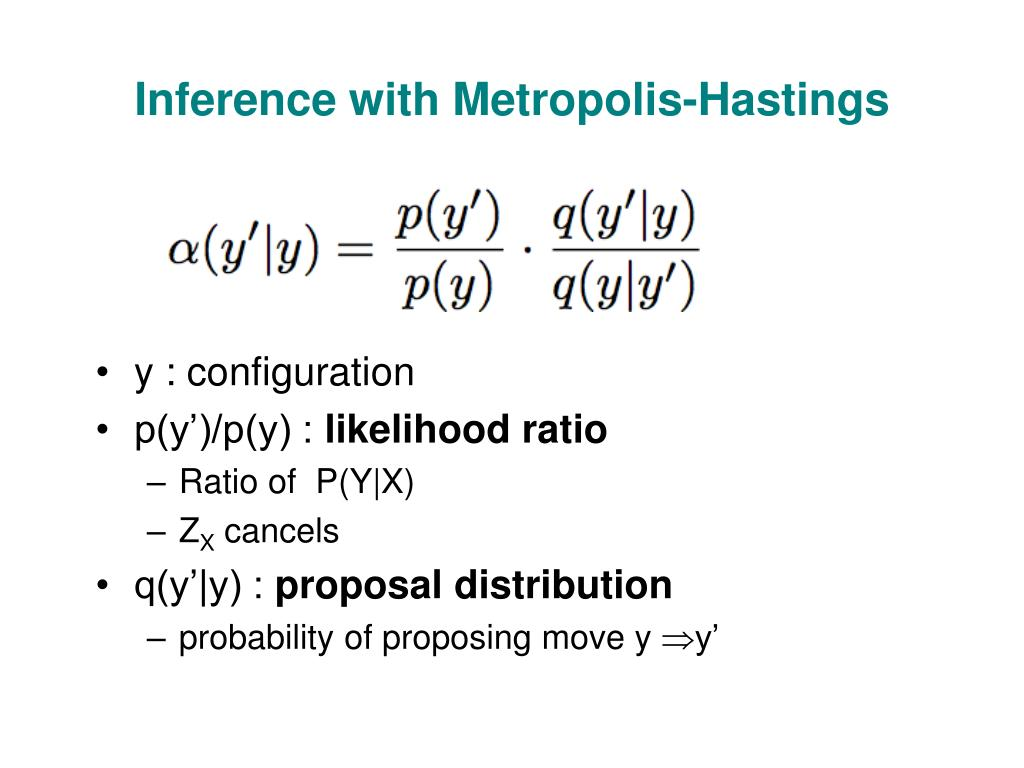 Inference with Metropolis-Hastings