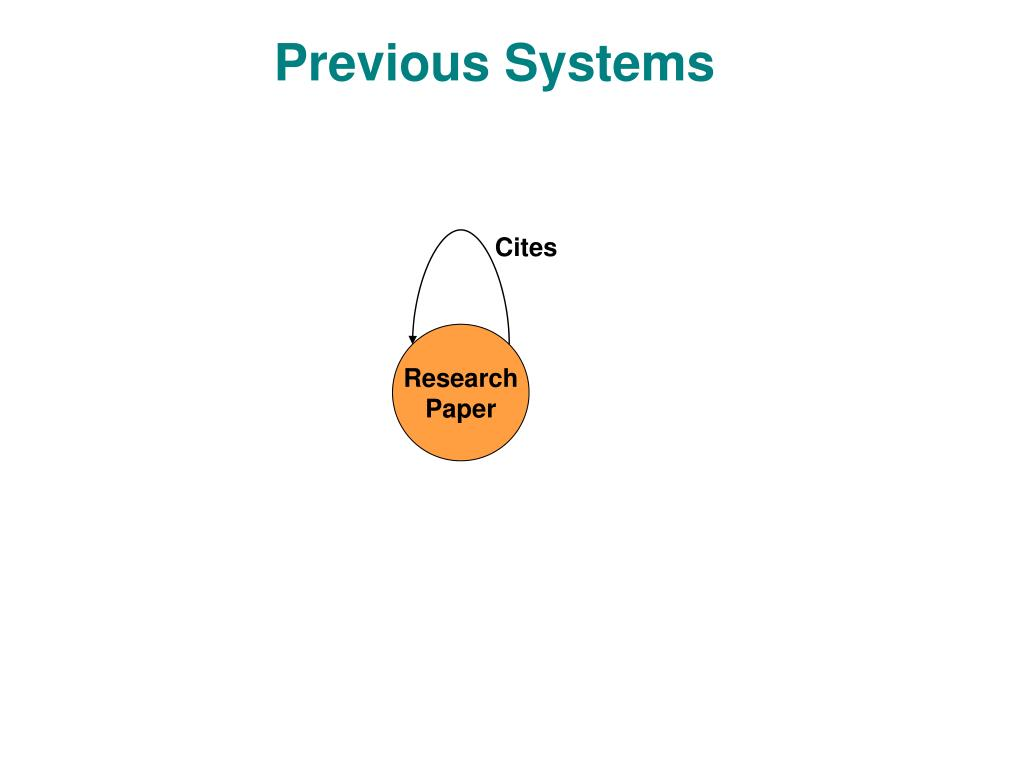 Previous Systems