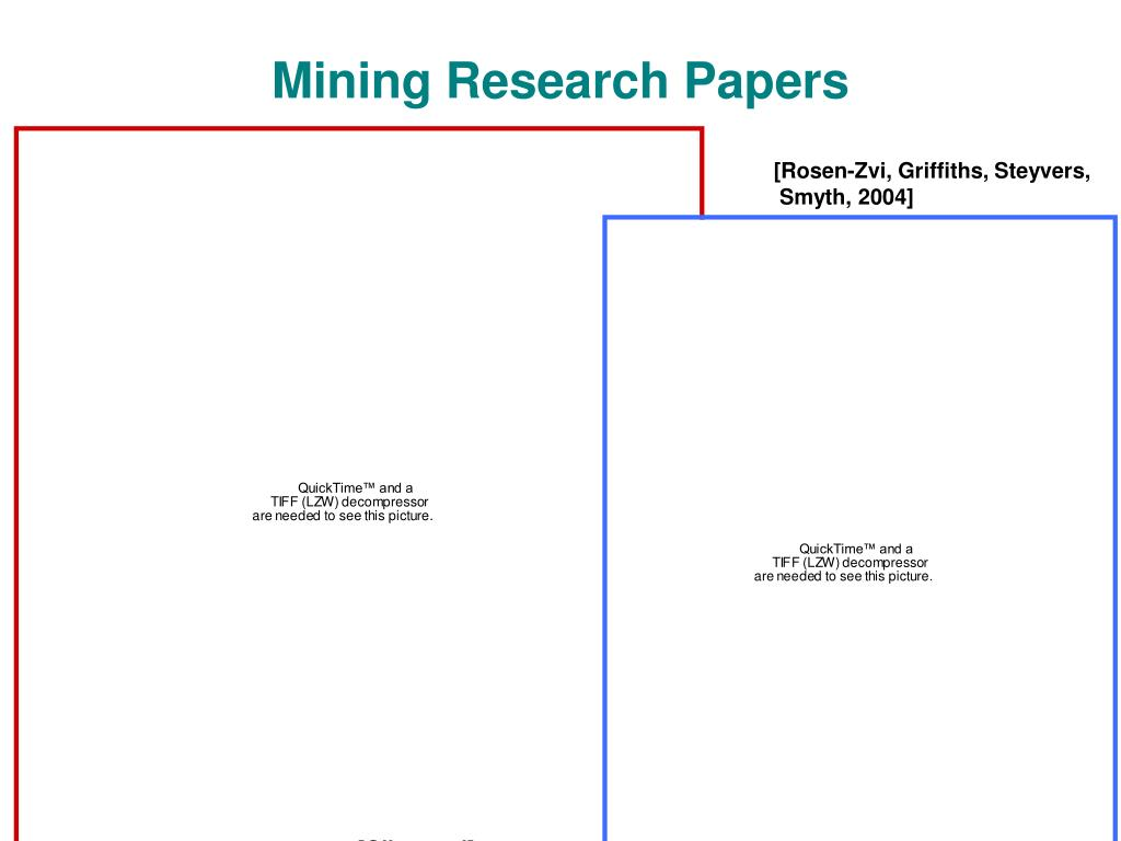 Mining Research Papers