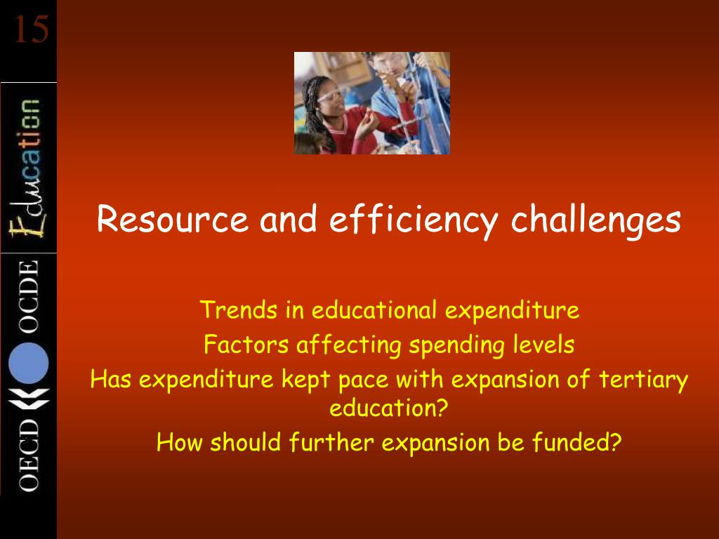 Resource and efficiency challenges
