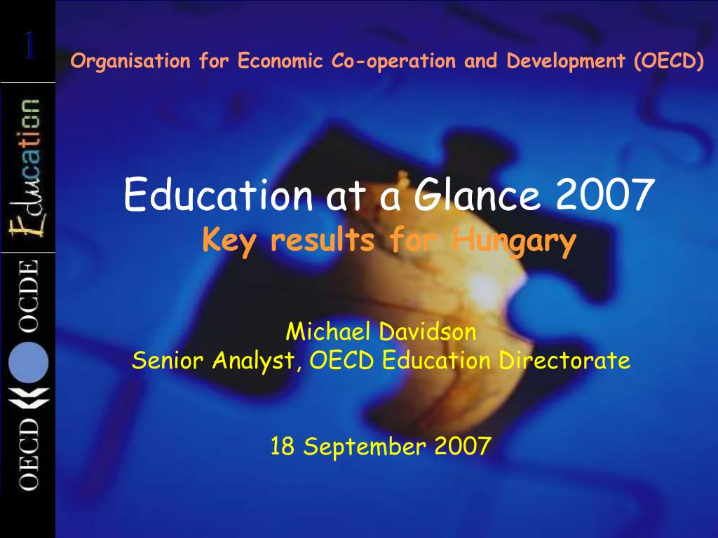 Organisation for Economic Co-operation and Development (OECD)