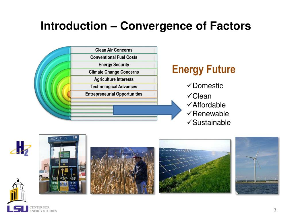Introduction – Convergence of Factors