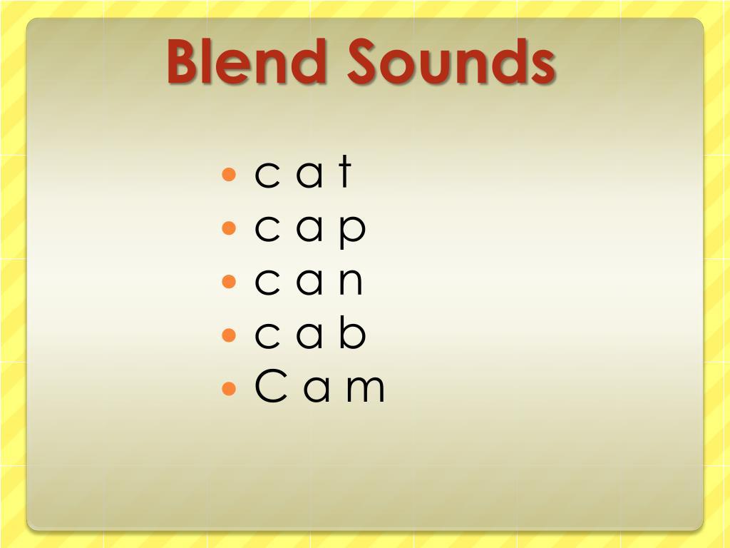 Blend Sounds