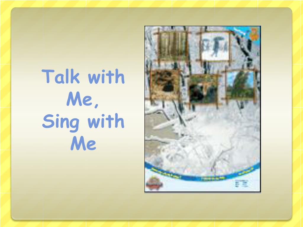 Talk with Me,