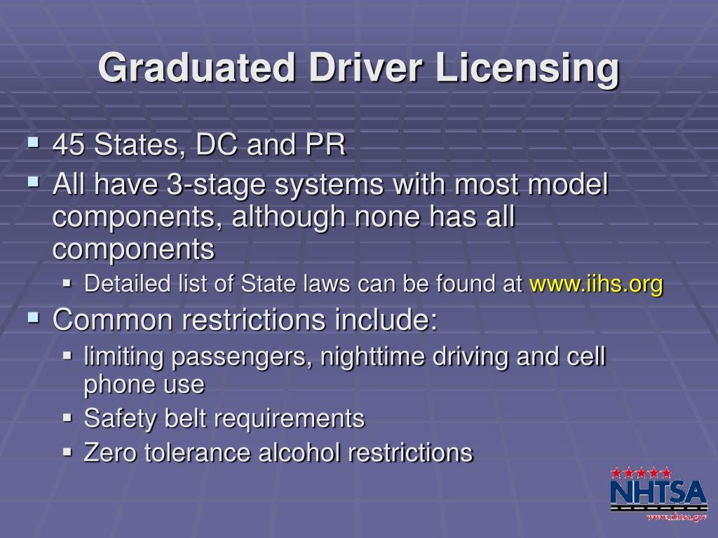 Graduated Driver Licensing
