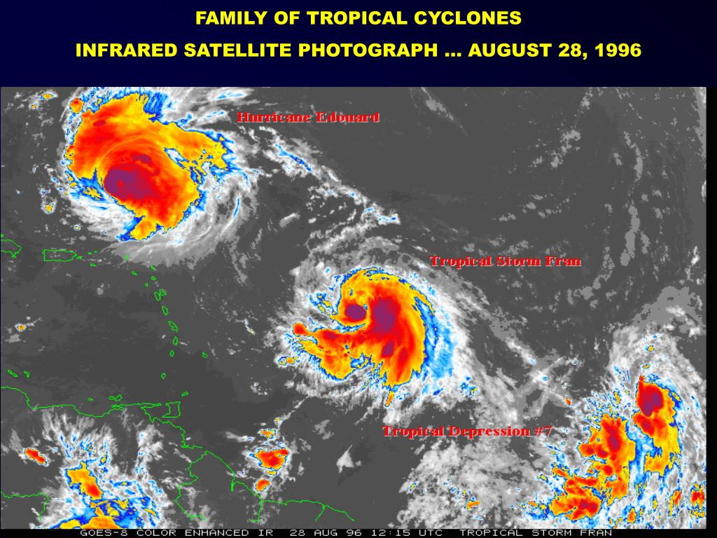 FAMILY OF TROPICAL CYCLONES