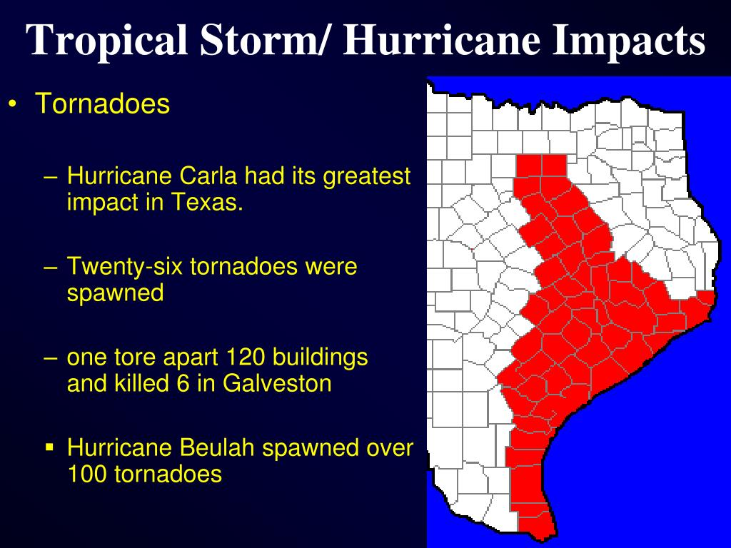 Tropical Storm/ Hurricane Impacts
