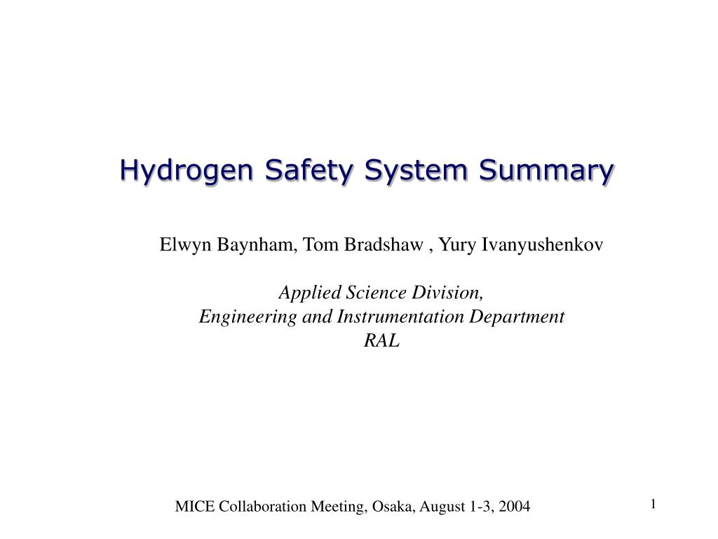 hydrogen summary 1 summary of the hydrogen fuel cell and battery electric vehicle stakeholder charrette expanding hawaii's clean transportation solutions january 13-14, 2015.