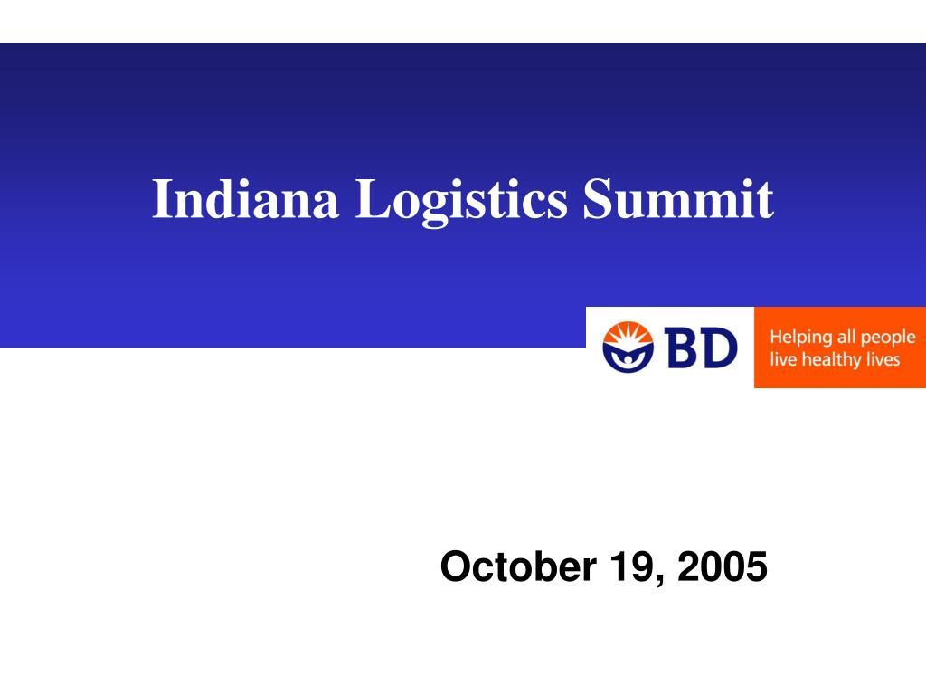 indiana logistics summit l.