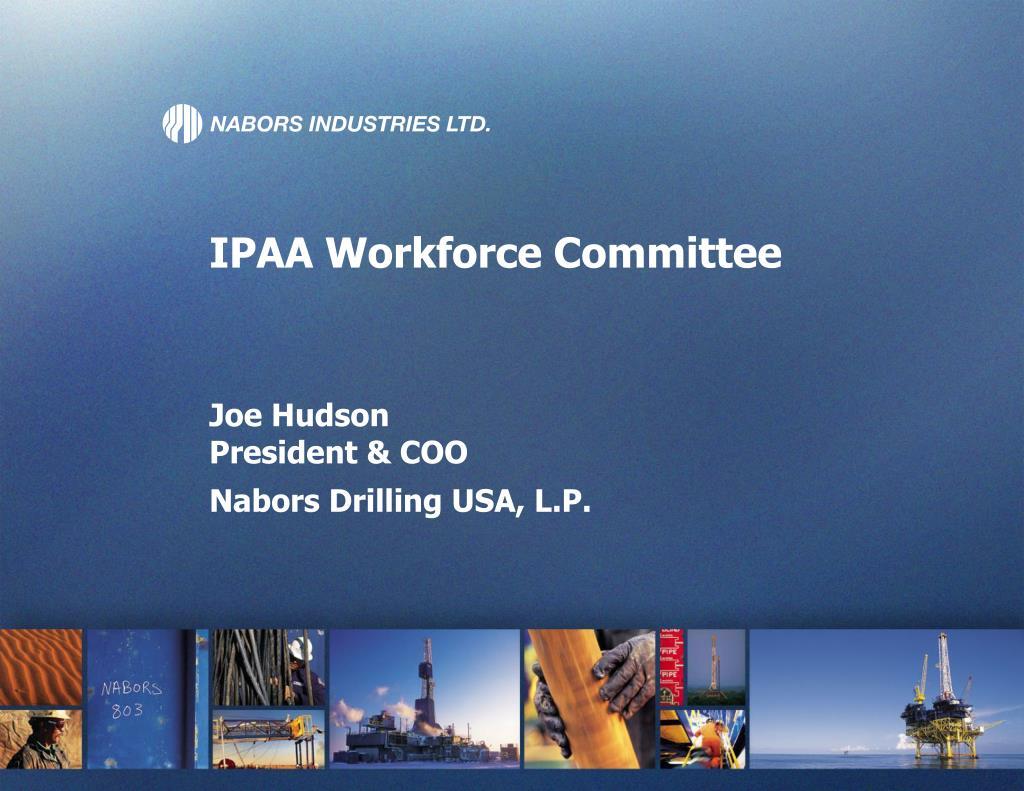 IPAA Workforce Committee