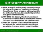 ietf security architecture