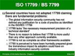 iso 17799 bs 779929
