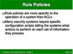 rule policies