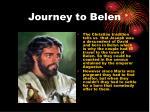 journey to belen