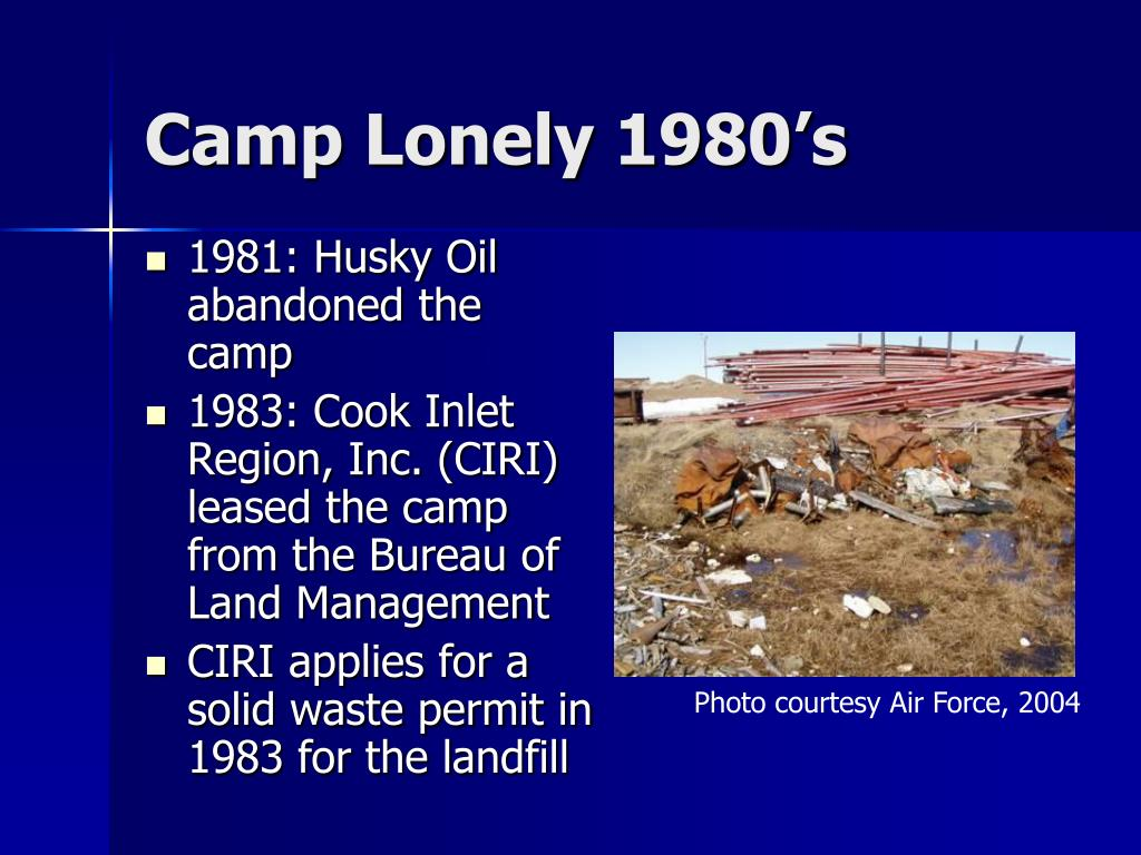 Camp Lonely 1980's