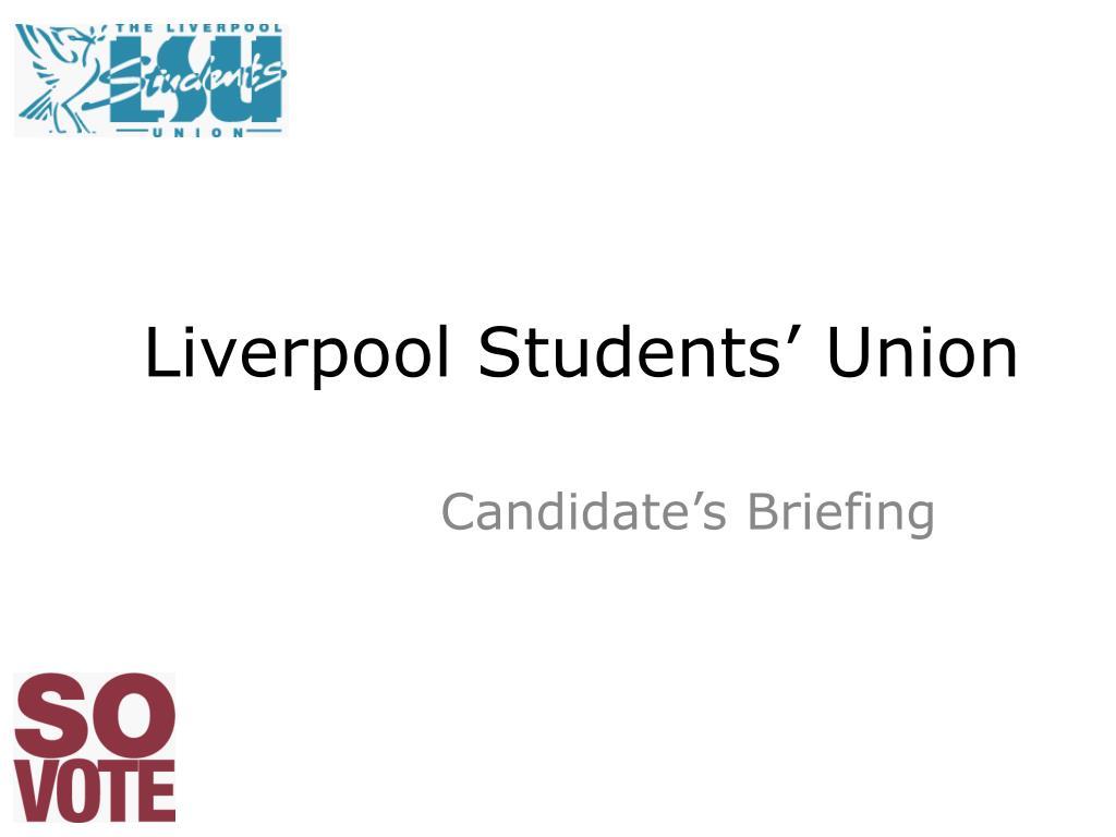 liverpool students union