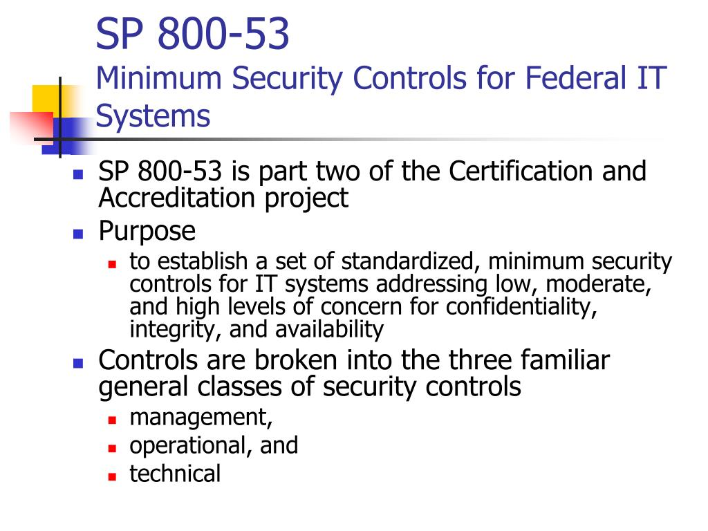 SP 800-53