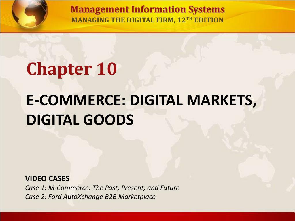 e commerce digital markets digital goods l.