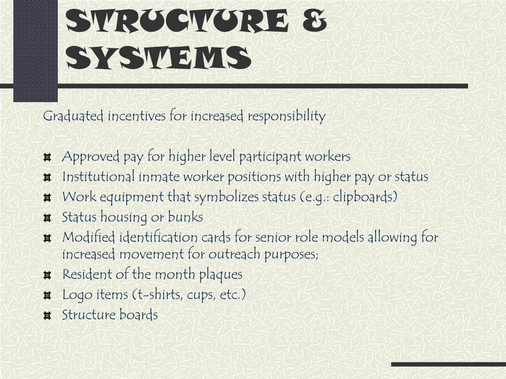 STRUCTURE & SYSTEMS