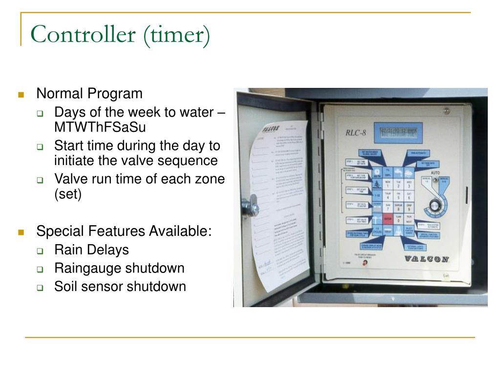 Controller (timer)