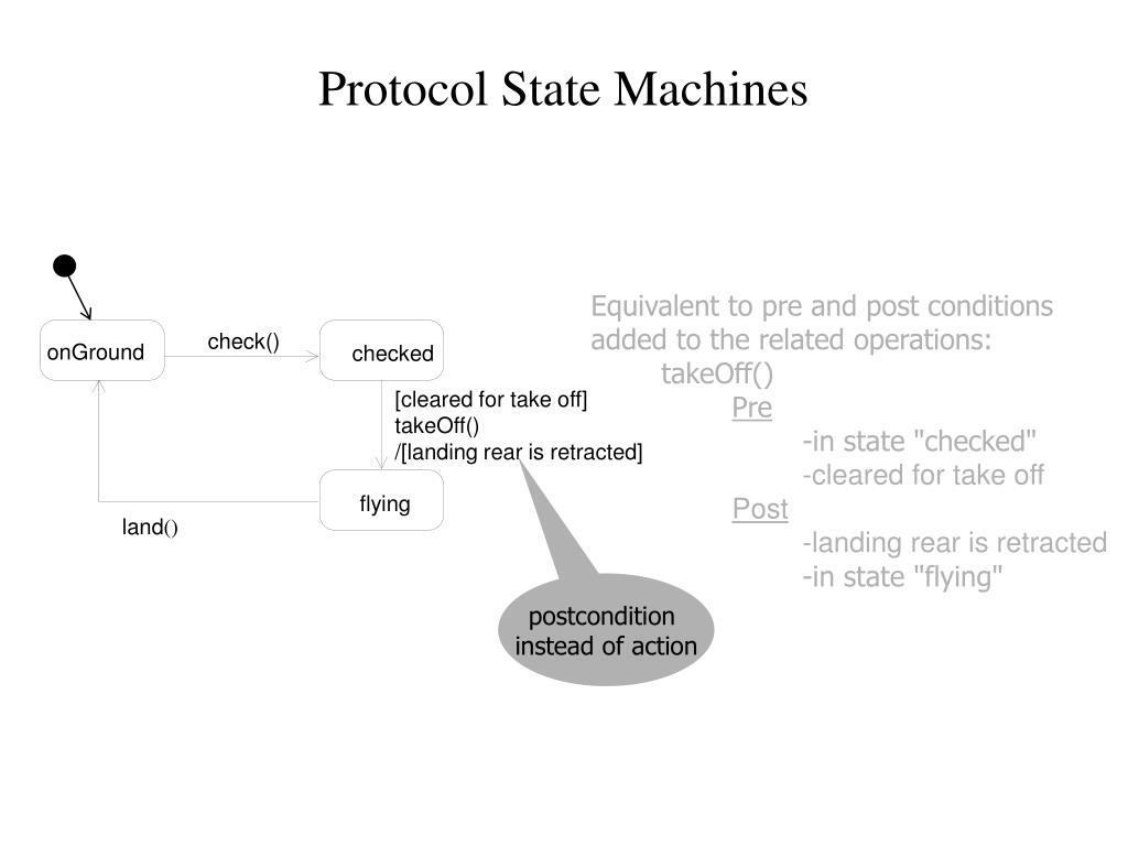 Protocol State Machines