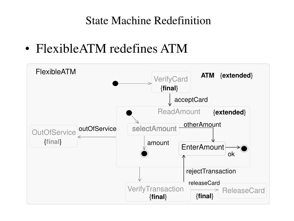 State Machine Redefinition