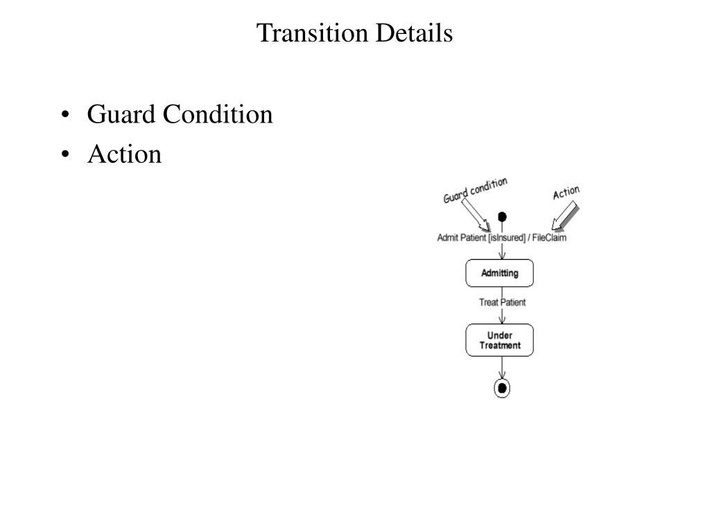 Transition Details